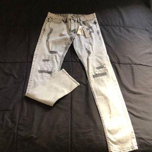 Grey Calvin clown jeans